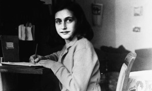 """The final forming of a person's character lies in their own hands."" ~ Anne Frank"