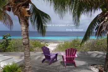 Bonaire Deck - Dickinson Quote