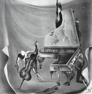 """Salvador Dali – """"The Red Orchestra"""" (1957)"""