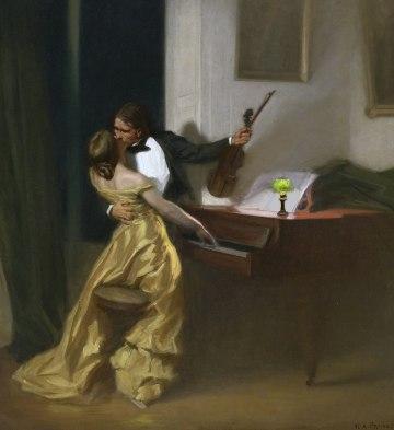 "Rene Francois Xavier Prinet – ""Kreutzer Sonata"" (1901)"