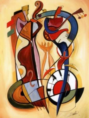 "Wassily Kandinsky – ""Cadence"" (1924)"